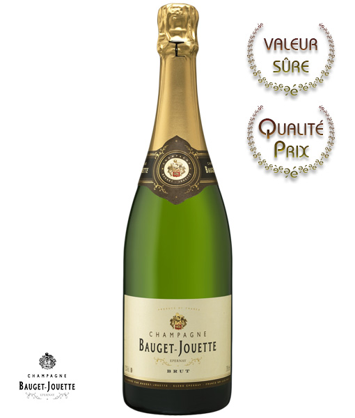 Champagne Bauget Jouette, Carte Blanche, brut
