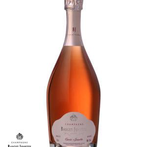 Champagne Bauget Jouette, Cuvée Jouette, Rosé, brut