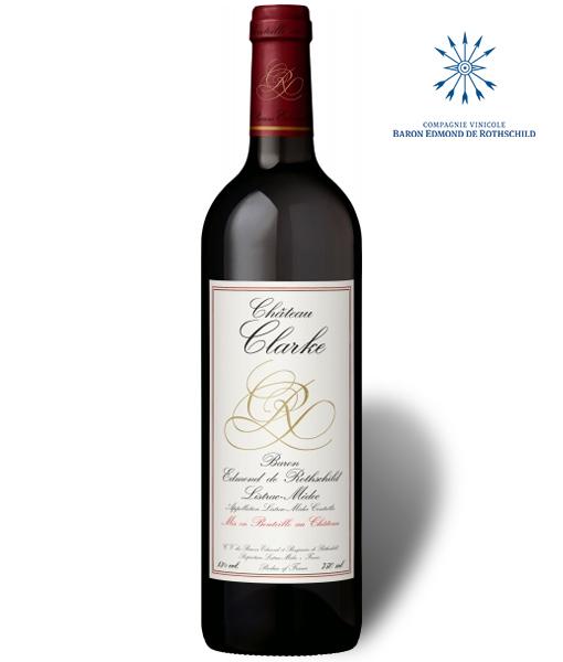 Ch teau clarke 2009 baron edmond de rothschild rouge for Chateau clarke
