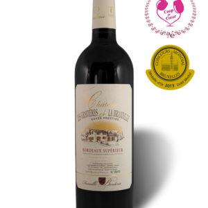 Château Les Gravières de la brandille, cuvée prestige, AOC Bordeaux Supérieur