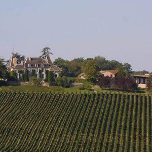 Château de Parenchère - Vue côté terrasse