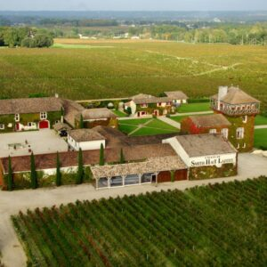 Château Smith Haut Lafitte – vue aérienne 1