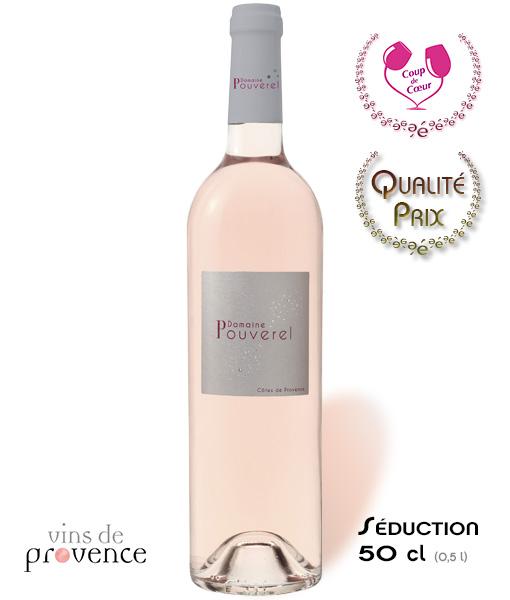 Domaine de Pouverel – Côtes de Provence – Rosé – 50 cl