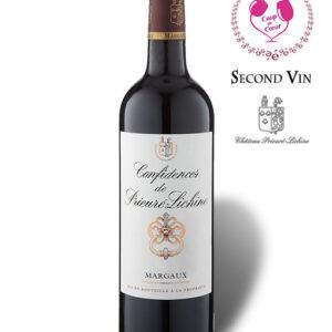 Confidences de Prieuré-Lichine 2010, second vin du Château Prieuré-Lichine, Grand Cru Classé de Margaux