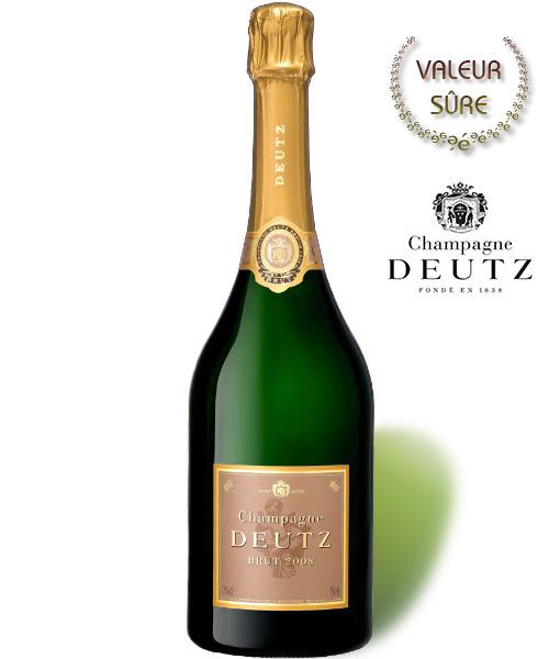 Champagne Deutz Brut 2008 – 75 cl