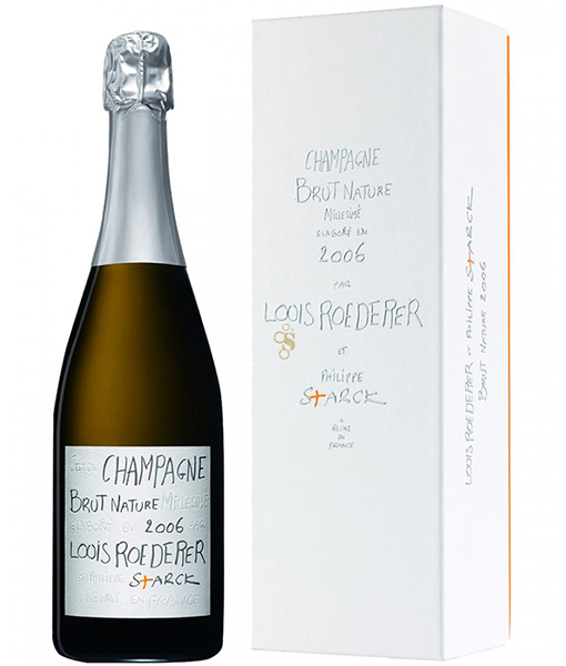 Champagne Brut Nature 2006 by Philippe Stark