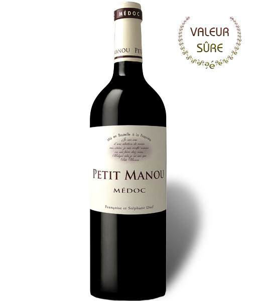 Petit Manou second vin Clos manou médoc