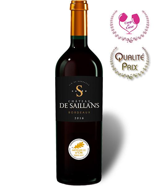 vin bordeaux médaillé